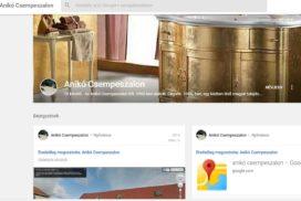 Anikó Csempeszalon Google+ oldala