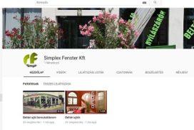 Simplex Fenster Kft Youtoube fiókja